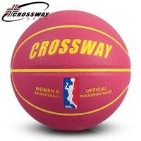 VROUWEN kleurrijke originele basketbal bal trainning wedstrijd team game Hoge Kwaliteit Officiële Maat 6 Basketbal