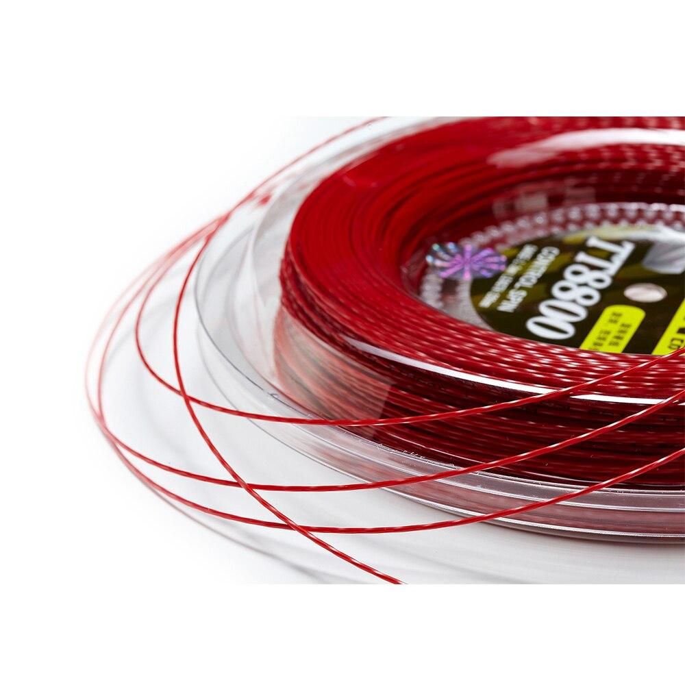 1 Катушка TAAN Power Spin Twist, теннисная ракетка, веревка TT8800, 1,20 мм, Полиэстеровая теннисная веревка, 200 м