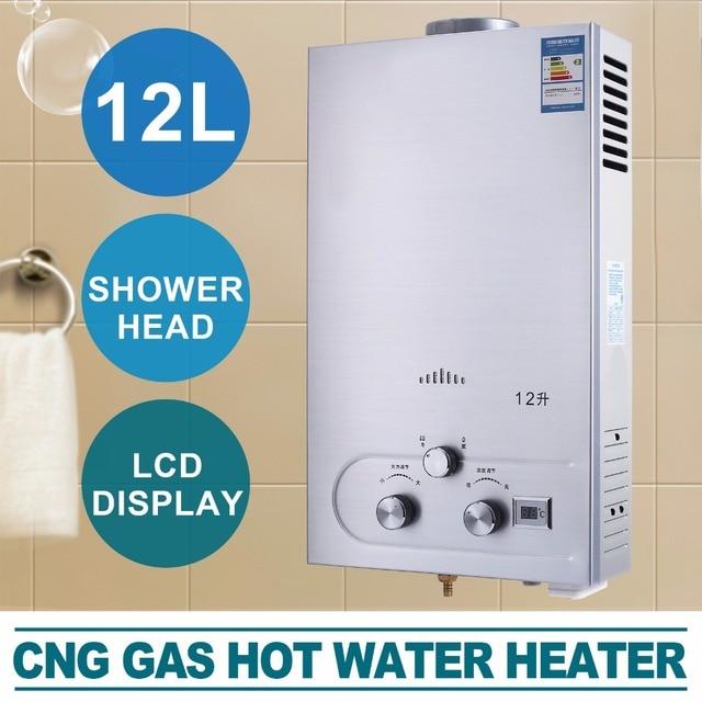 VEVOR Hot Water Heater 12L NPG Natural Gas Propane Water Heater