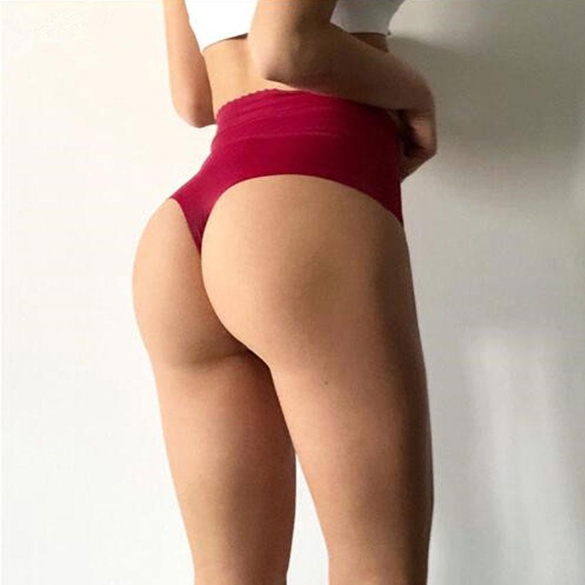 ★  Yoga Shorts Sexy Hip Curve Underwear T Word Трусики Женщины Талия Бесшовные Трусики Женские Спортивн ✔