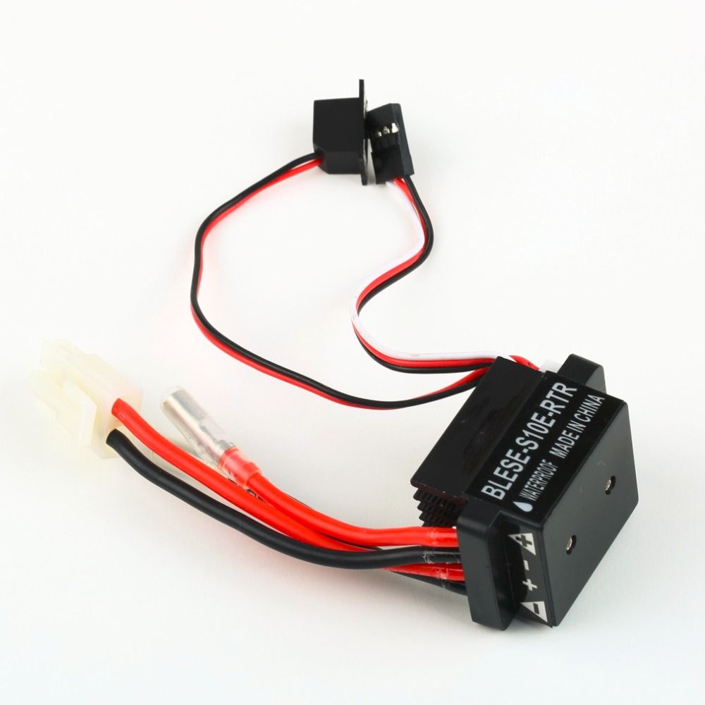 Model Vehicle 1//10 Waterproof Durable Brushed 60A Electronic Speed Controller f