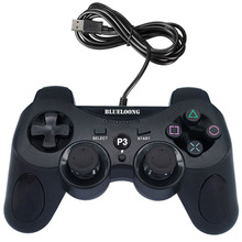Til blueloong USB Wired Gamepad Joystick til Sony PS3 controller Dualshock Sony Playstation 3 spilkonsol til PC / Play station 3