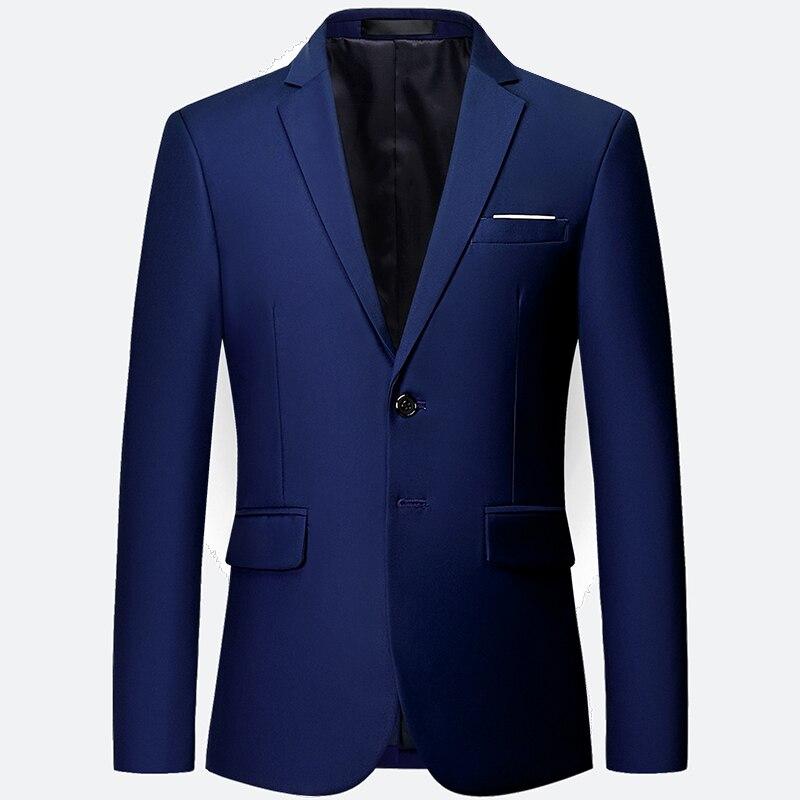 HCXY 2018 White Wedding Blazers Men Formal Dress Solid