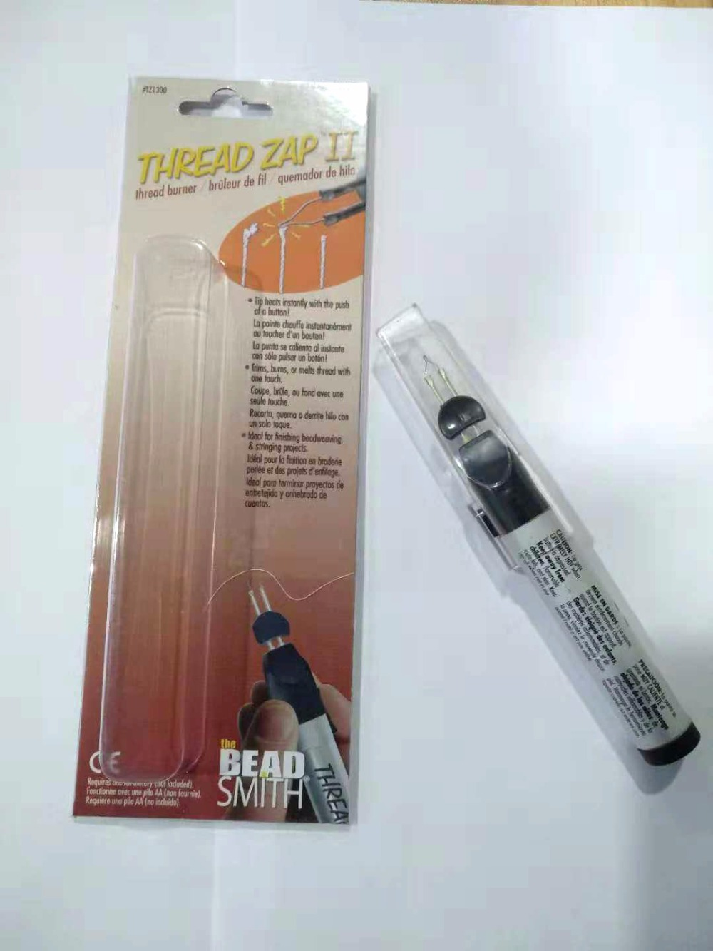 Free Shipping Welding Crayons <font><b>Wax</b></font> Pen Thread Zap II Thread Burner for <font><b>Jewelry</b></font> <font><b>Tools</b></font> Melting Welding <font><b>Wax</b></font> Pen image