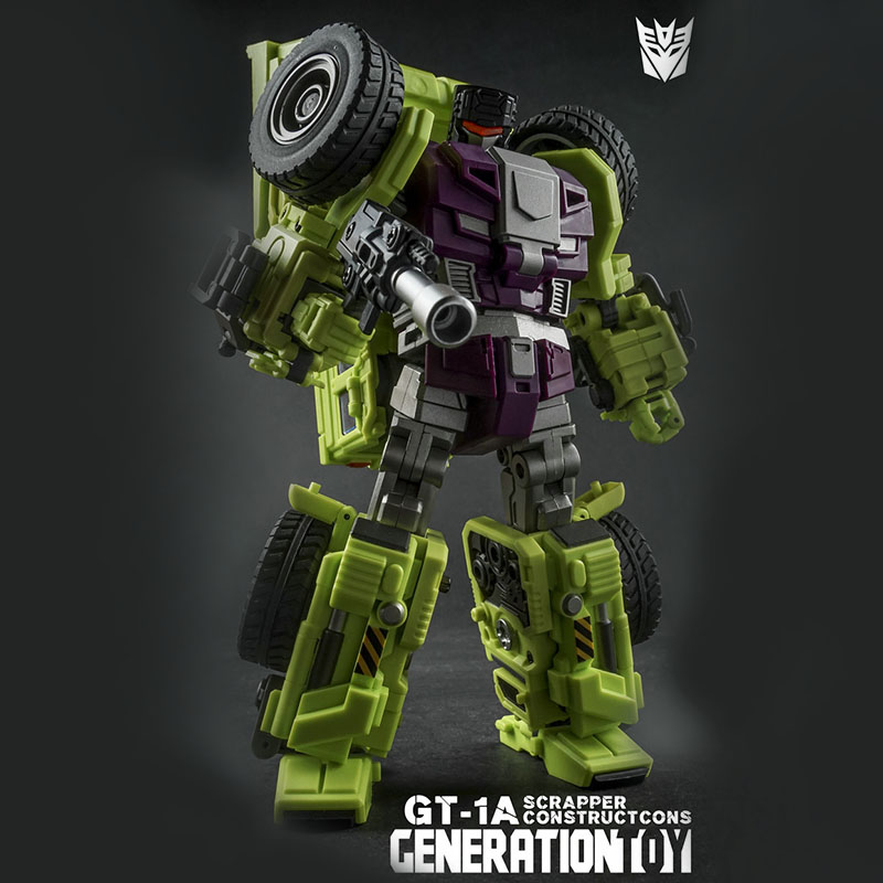 (IN STOCK) Toy Generation Toy GT-01A Gravity Builder Devastator Scrapper