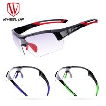 WHEEL UP Photochromic Wheel Bicycle Bike Glasses UV400 MTB Outdoor Sport Sunglasses Cycling Myopia Frame Eyewear