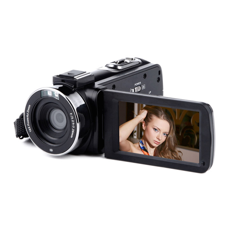 Wifi Digital Camera 8MP Real Pixels 16X Full HD 1080P with Remote Control Support Infrared Night Vision CMOS Wedding Record DV цена 2017
