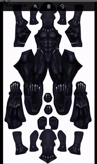 New 2018 Black Panther Halloween Costume Marvel