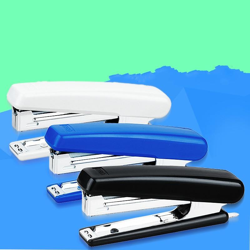 Deli 0221 Stapler Use #10 Staples Small Stapler Lightweight With Staple Mover Deli Stationery Mini Stapler