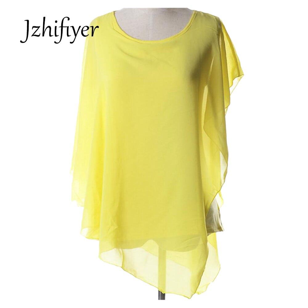 ladies   blouse   women ruffles sleeve women's chiffon batwing   blouse     shirts     shirt   mujer blusas feminine womens tops and   blouses