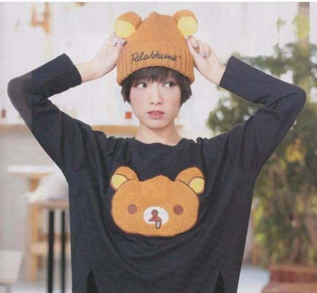 2017 Hot Sales! Popular Rilakkuma Animal Woollen Hat Fashion and Lovely Hat