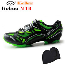 TIEBAO Mountain Bike Shoes 2018 sapatilha ciclismo mtb Cycling Shoes Winter Breathable Riding Bicycle Shoes Sapatos de ciclismo