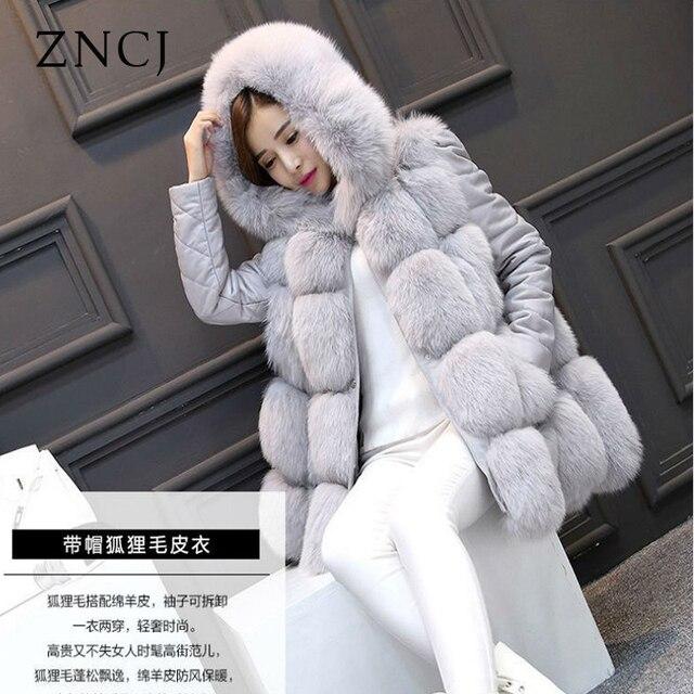 Faux fur vest on sale