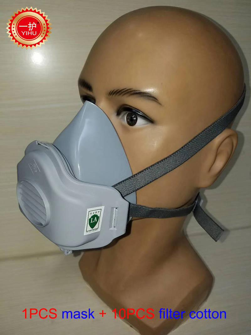 respirator mask for grinding metal
