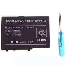 Li-ion Rechargeable Battery + Mini Screwdriver for NDS Lite for Nintendo DS Lite for NDSL Console Factory Price Wholesale