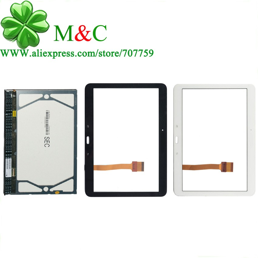 OGS T530 LCD Touch Panel For Samsung Galaxy Tab 4 10.1 T530 T531 T535 LCD Display Touch Screen Digitizer Glass Assembly 3 lcd samsung galaxy tab 4 10 1 t530