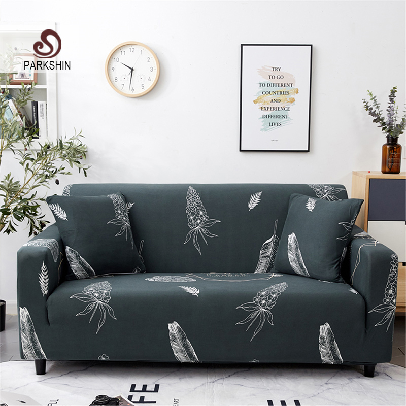 Parkshin Nordic Elastic Spandex Sofa Cover Tight Wrap All inclusive Couch Covers for Living Room Sectional Sofa Cover-in Sofa Cover from Home & Garden