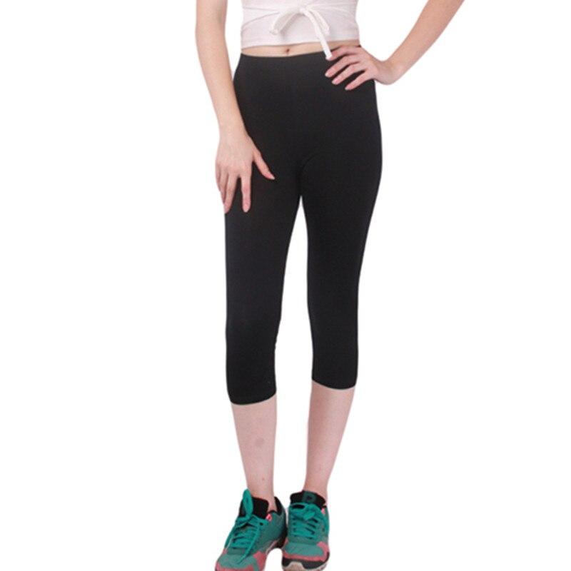 Solid Girl Women Slim  Pants New Arrival Casual High Elastic Lady Capris Leggings High Quality Autumn,Winter IU858264