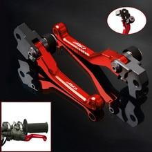 Motorcycle CNC Pivot Brake Clutch Lever For Honda CRF250X 2004-2016 CRF450X 2005-2016 CRF230F CRF250L CRF250M 2012-2015