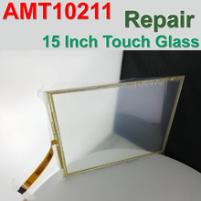 AMT10211 AMT 10211 91-10211-000 AMT-10211 15 Inch 5 Wire Touch Screen Panel HMI & CNC Machine Repair,Free shipping