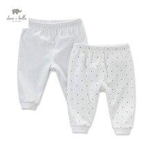 DB4623 dave bella automne nouveau-né bébé garçons filles dorment bas points imprimés pyjamas bas bébé rose bleu sous-vêtements