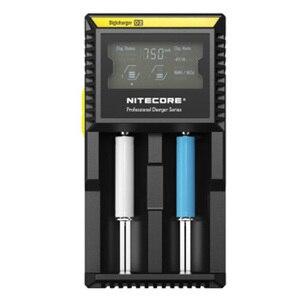 Image 5 - Originale Nitecore D2 Caricabatteria LCD Intelligente di Ricarica per 18650 14500 16340 26650 AA AAA Batterie 12V Caricatore h15