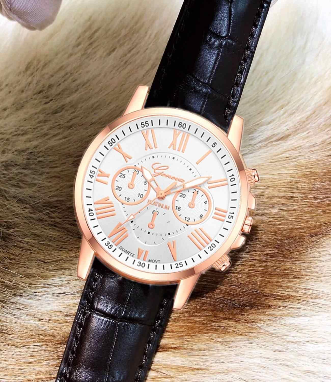 7f8d137ea ... 2019 Brand Woman Watch Fashion Ladies Quartz Leather Watches Men Luxury  Motion Watch Imitation Mechanical Lovers ...