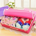Ausuky Set Storage Boxes For Bra Underwear Folding Closet Organizer Drawer Divider Container 50