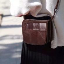 Cobbler Legend Chic Shell Bags 2019 Genuine Leather Bag Women Messenger Bag Retro Vintage Lady Handbags Small Shoulder Bag