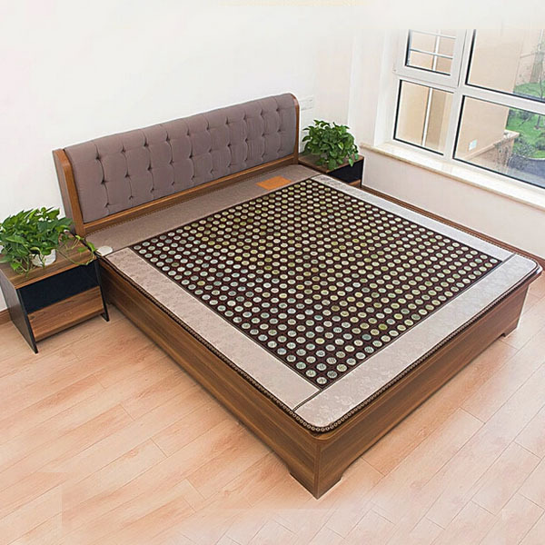Good Jade Germanium Stone Mattress Jade Health Care Physical Therapy Mat Tourmaline Heat Mattress Size120x190cm Free Shipping