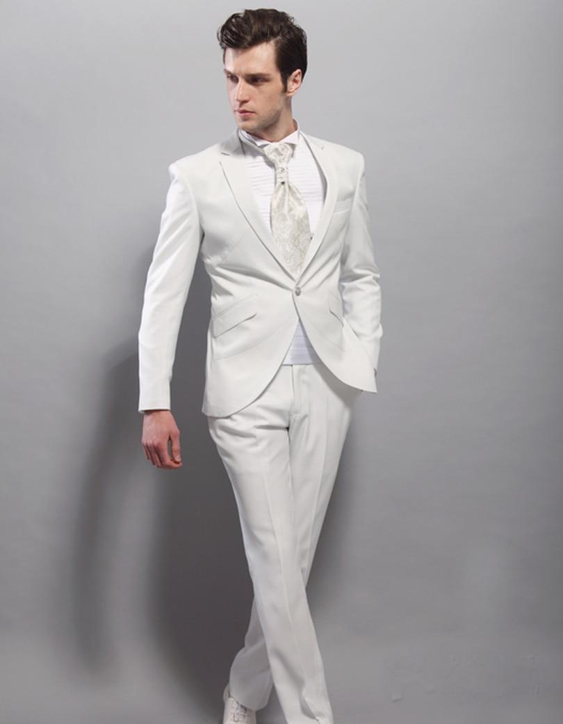 579f0cb4ec1e Da Sposa L uomo Picture Vestito 1 Uomo As Per Su Vestitigiacca Dello Piatto  Sposo Collare Groomsman Alta Qualità Button Misura Smoking PantaloniSame  Abito ...