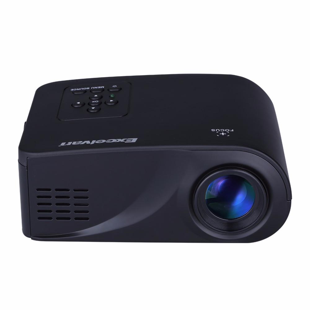 Mini 1080p Full Hd Led Projector Home Theater Cinema 3d: Excelvan X6 Mini Portable LED Projector Full HD 1080P HDMI