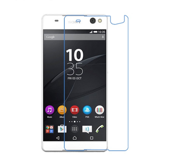 Premium Tempered Glass And PET(Soft) Screen Prot For Sony Xperia E5 E4 E4G E3 E2 E Film For Xperia C5 C4 C3 C