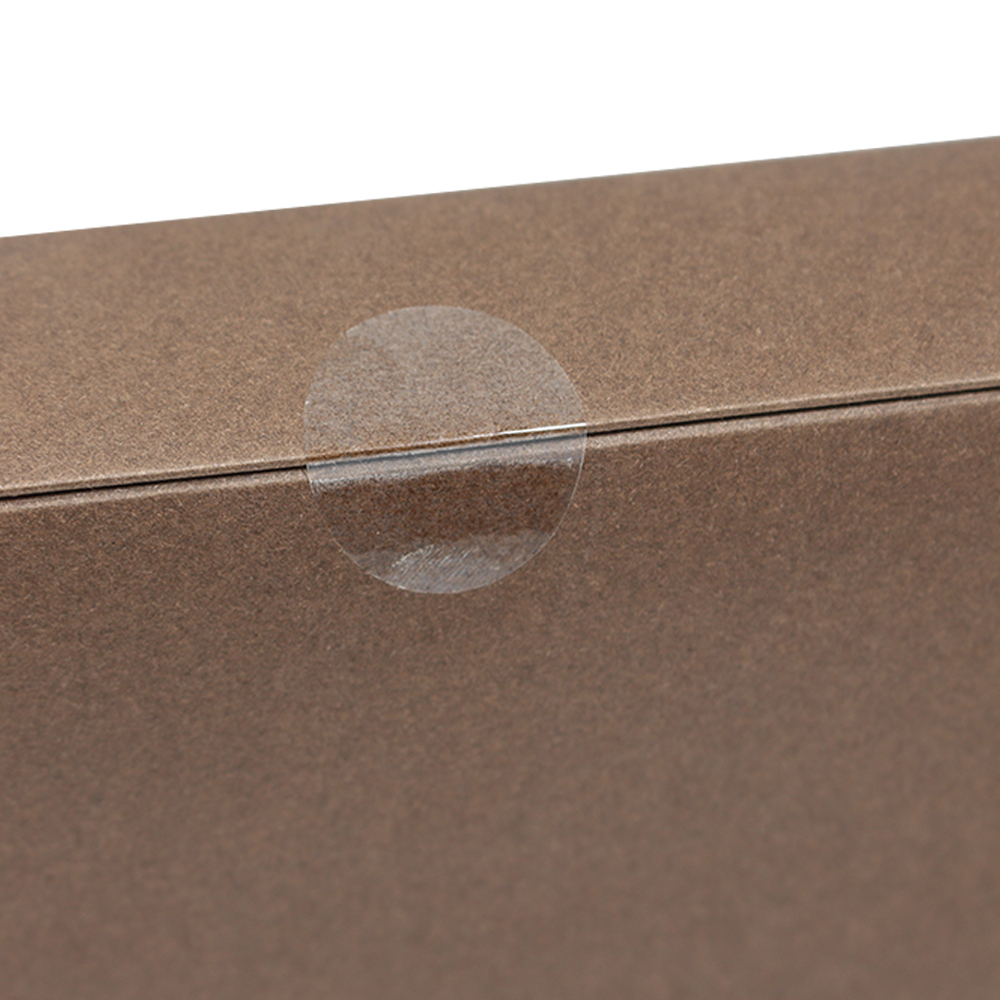 DHL Оптовая Продажа Ясно, эллипс самоклеющиеся Бакалея Стикеры Label Пластик прозрачный конверт коробке файла разное Уплотнение Этикетка