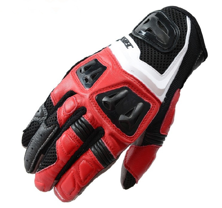 2018 new free shipping breathable leather racing gloves motorcycle gloves men s road cycling gloves