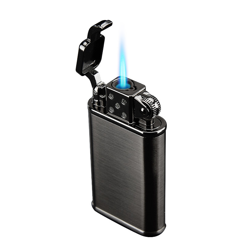 2019 New Pipe Lighter Torch Turbo Lighter Jet Butane Metal Lighter Cigarette 1300 C Fire Windproof No Gas-in Matches from Home & Garden