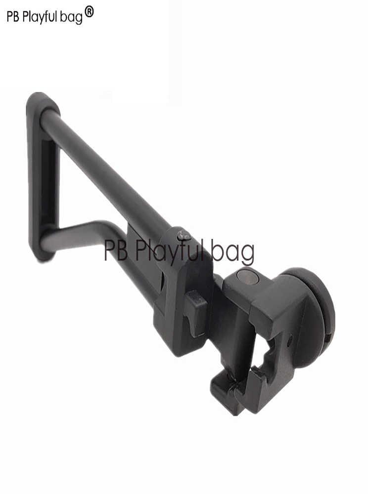 屋外スポーツ cs 戦術的なスポーツジェボール銃のおもちゃ renxiang AK47 特別な折りたたみ後サポート CP105 アップグレード材料 AK74M KD49