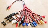 20 в 1 Многофункциональный Lipo зарядное устройство соединительный кабель соединительной линии Разъем типа