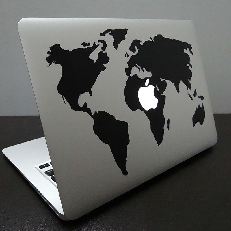 Aliexpress Com Buy World Map Computer Decal Laptop