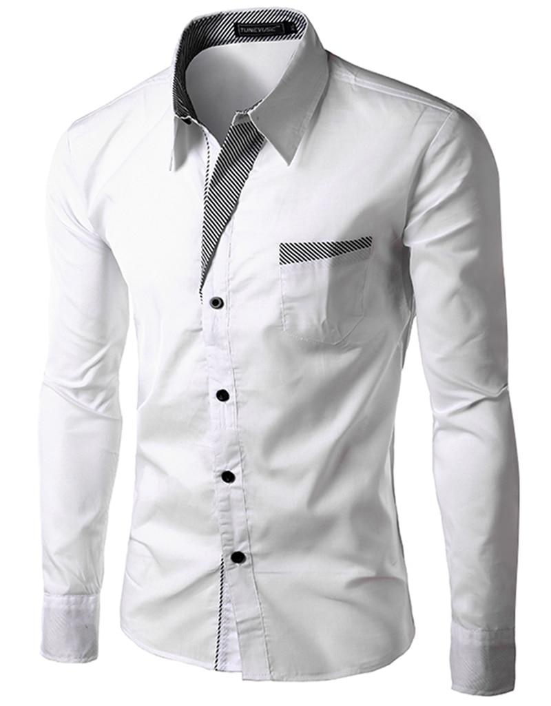 Popular Men White Shirt Slim Fit 2015-Buy Cheap Men White Shirt ...