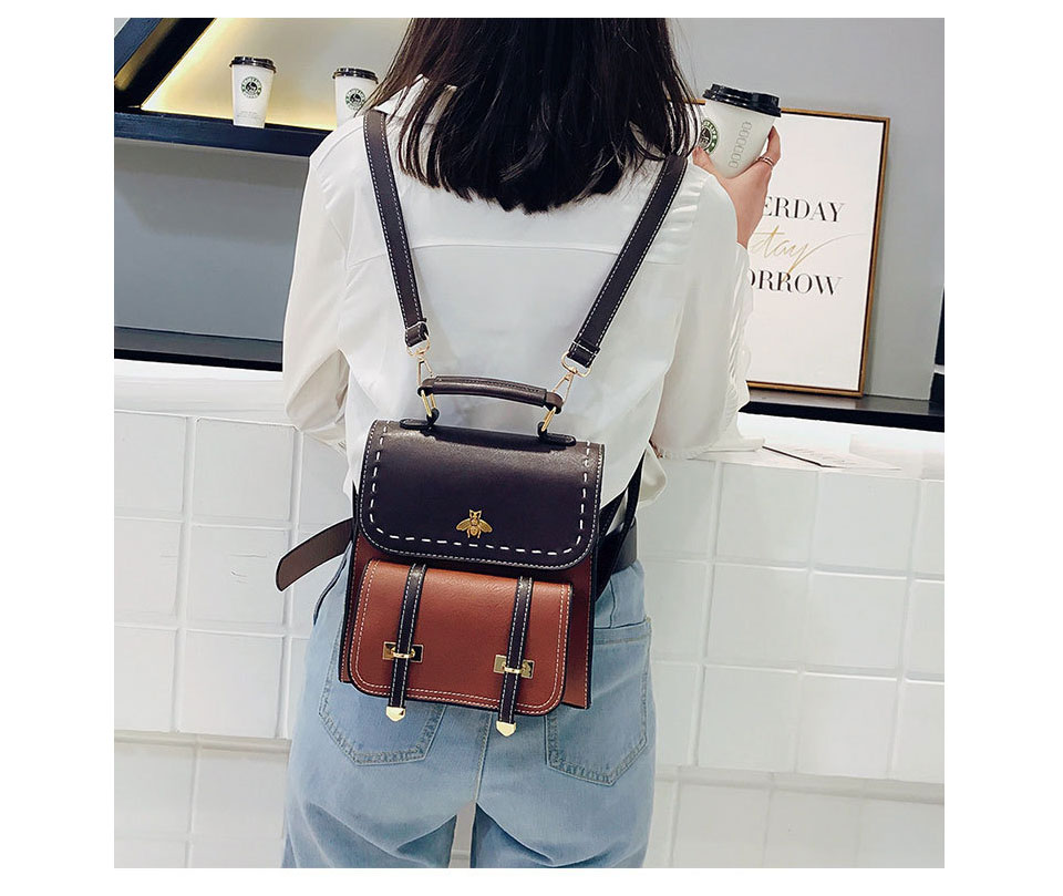 HTB1RlL4EnJYBeNjy1zeq6yhzVXam CASMOR Vintage Backpacks Women Classic Old School For Girls Fashion School bag PU Leather High Quality College Backpack