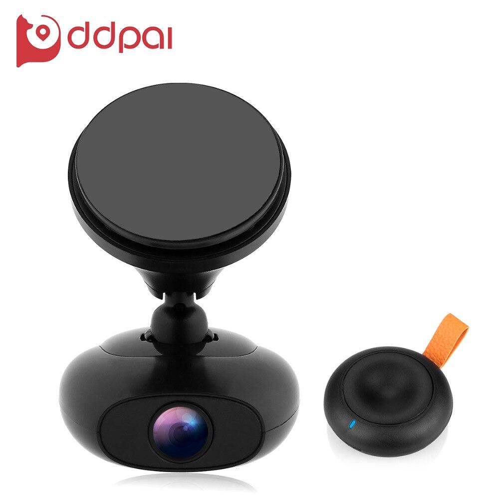 imágenes para DDPAI M4 FHD 1080 P WIFI Coche de Grabación de Vídeo Digital de GPS cámara DVR Vehículo Videocámara Dash APP Monitor Noche g-sensor visión
