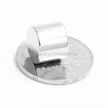 200pcs Strong Round Dia  12mm x 10mm N35 Rare Earth Neodymium Magnet Art Craft Fridge 12x10mm