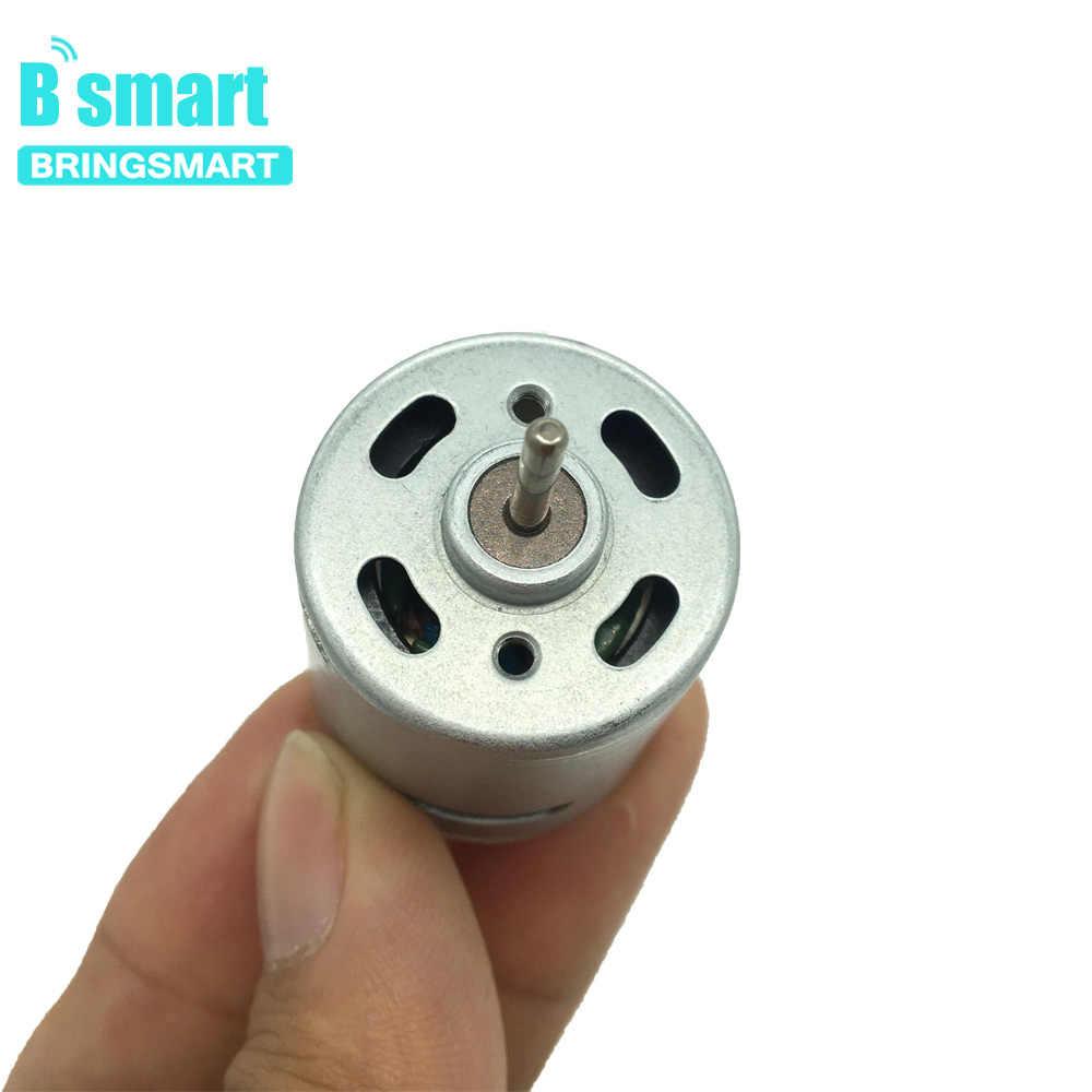 BringSmart RS 360 365 مايكرو موتور تيار مباشر 5000-19400 r/دقيقة 12v 18v 24v عالية السرعة المحرك ل محرك مجفف الشعر