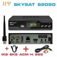 SKYSAT S2020 Twin Tuner IKS SKS ACM ACM/T H.265 Thu Vệ Tinh ổn định nhất máy chủ cho Nam Mỹ Châu Âu
