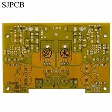 SJPCB желтая паяльная маска 1 унций Fr4 печатная плата, покрытая отверстиями из Китая, без дополнительной платы для быстрой доставки цвета