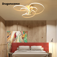 Dragonscence Modern ceiling lights led Remote Large High power Ceiling lamp fixture for Commercial Plaza living room bedroom