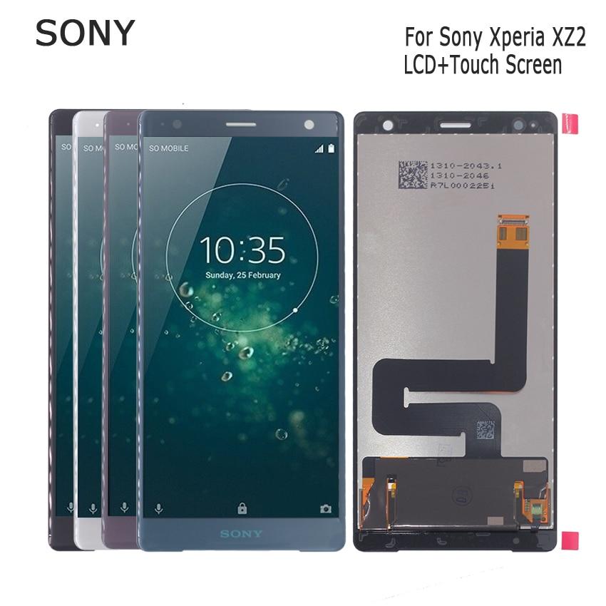 Original pour Sony Xperia XZ2 LCD écran tactile numériseur pour Sony XZ2 écran LCD affichage pièces de téléphone affichage outils gratuits