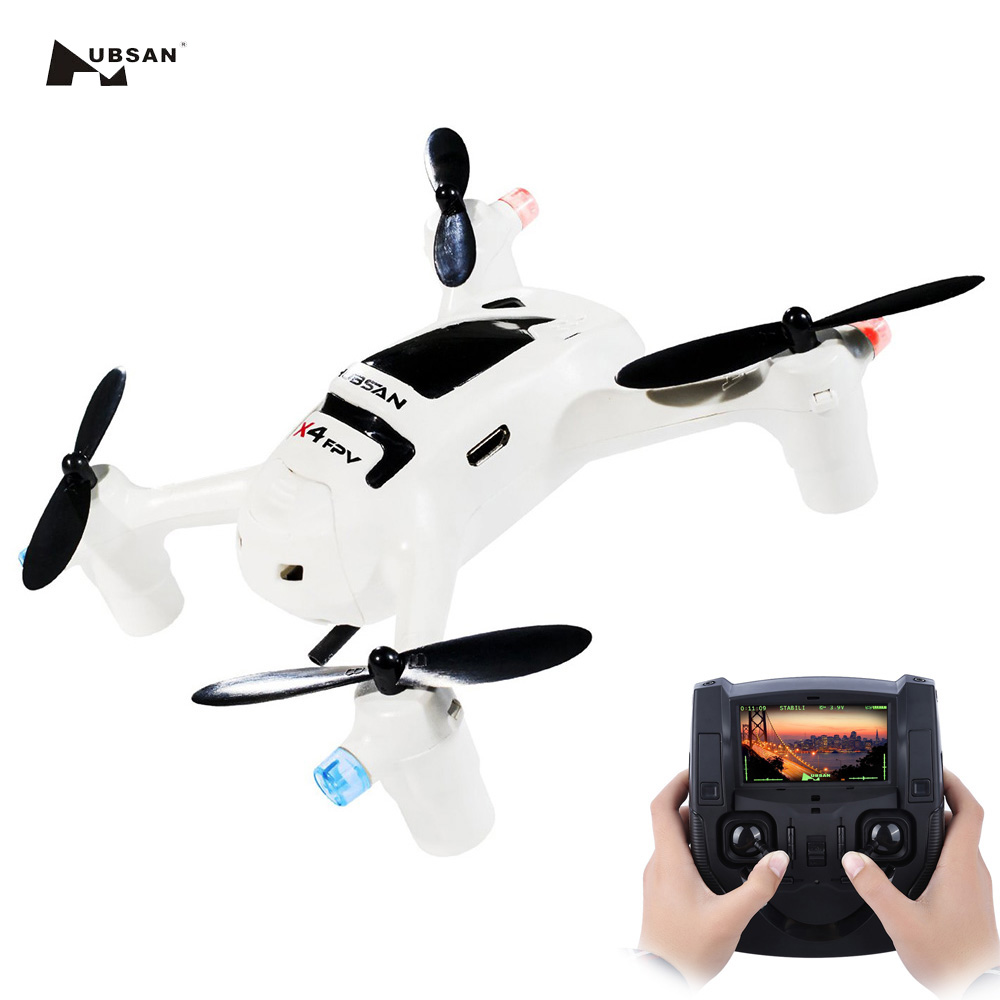 Hubsan FPV X4 Plus Drone H107D+ With 2MP 720P Wide Angle Camera 6 Axis Flight Control USB Charging Cable RC Quadcopter