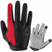 ROCKBROS Windproof Cycling Gloves Touch Screen Riding MTB Bike Bicycle Winter Autumn Glove Thermal Warm Motorcycle Men Clothing
